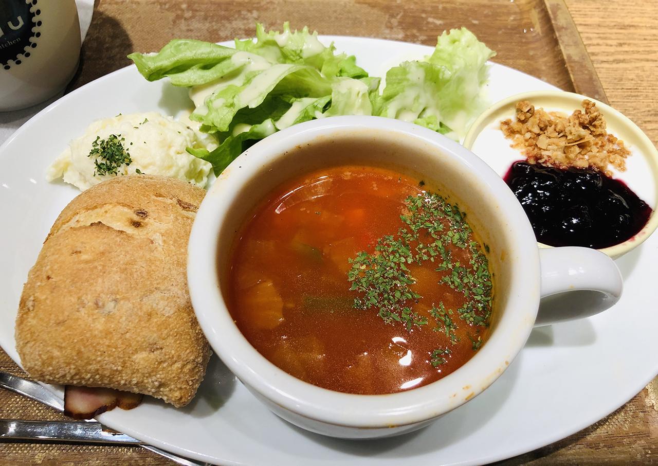 スープのアップ写真