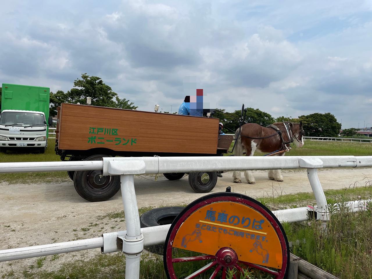 馬車乗り場の写真