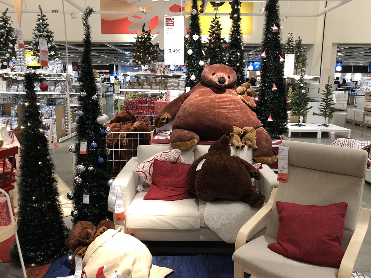 クリスマスの飾り付けの写真