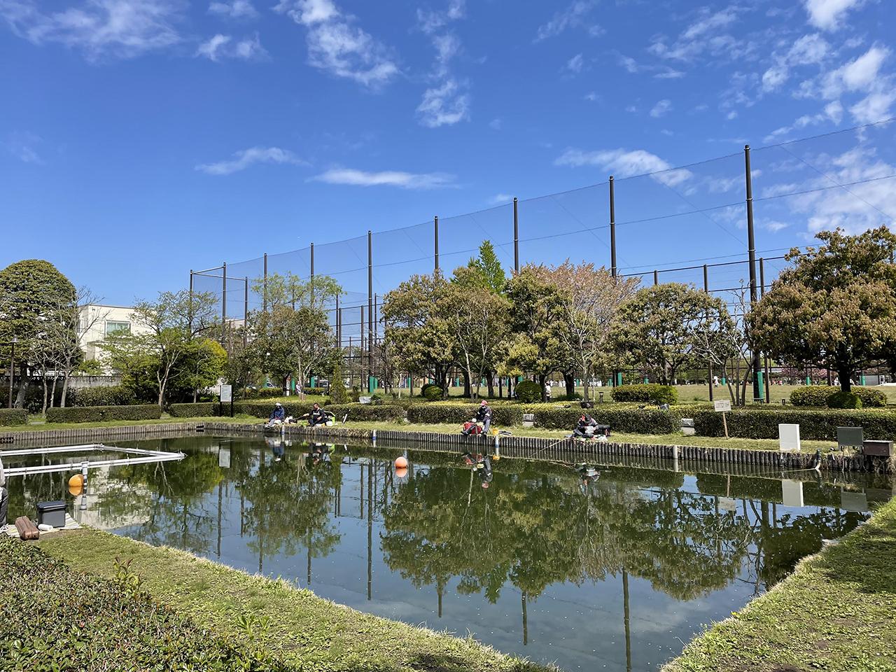 釣り池の写真