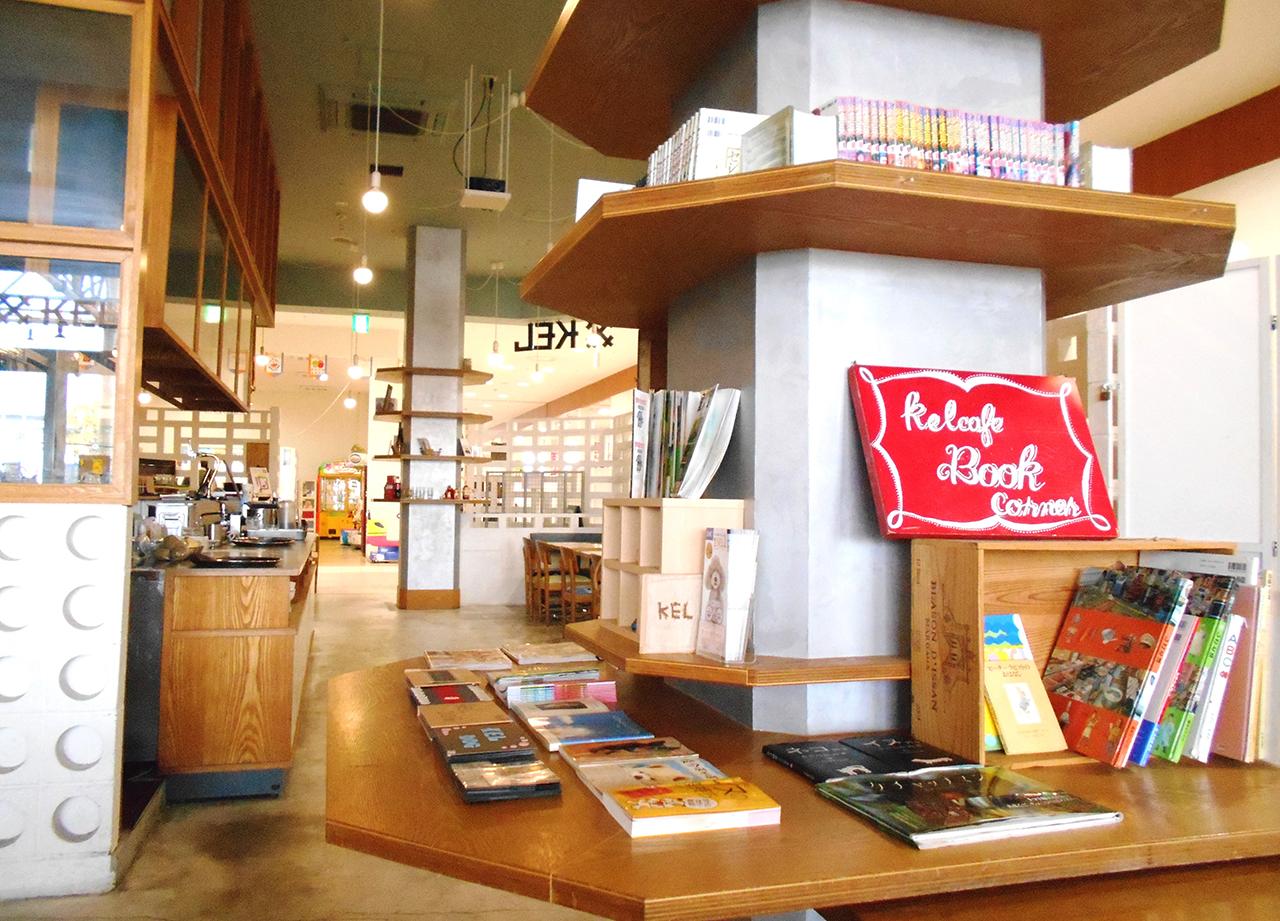 店内の風景