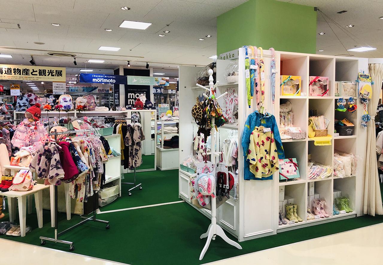 子供服売り場の写真