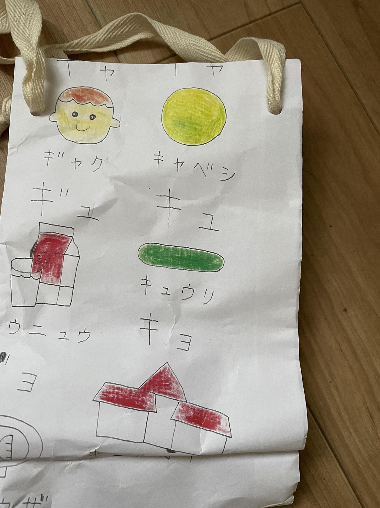 手作りの袋の写真