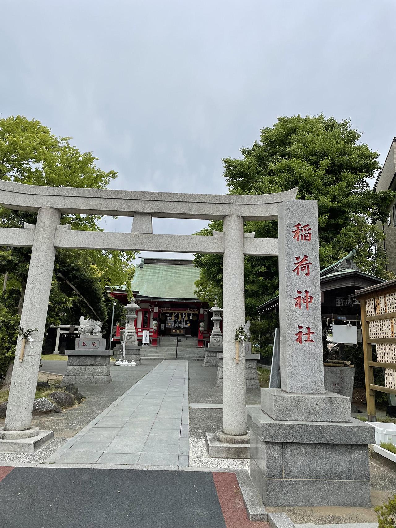 浦安三社 稲荷神社の画像