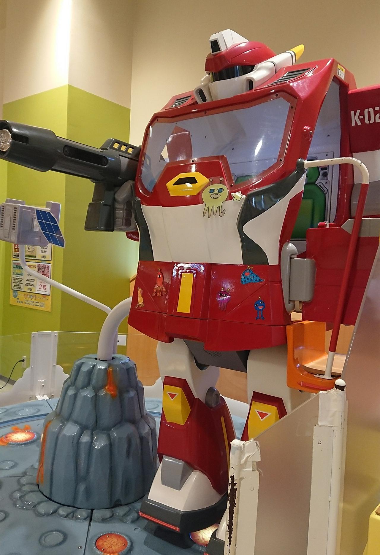 巨大ロボットの写真
