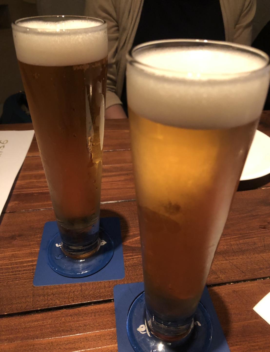 信州クラフトビールのアップ写真