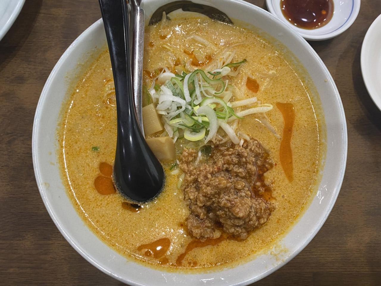 味噌担々麺の写真