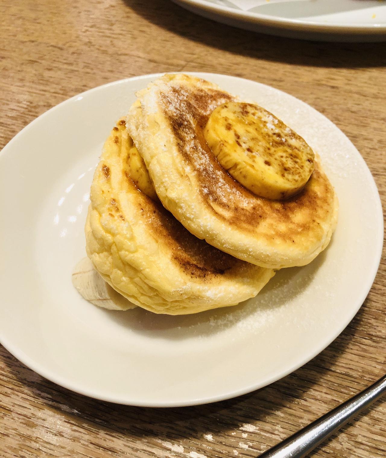 ミニリコッタパンケーキの写真