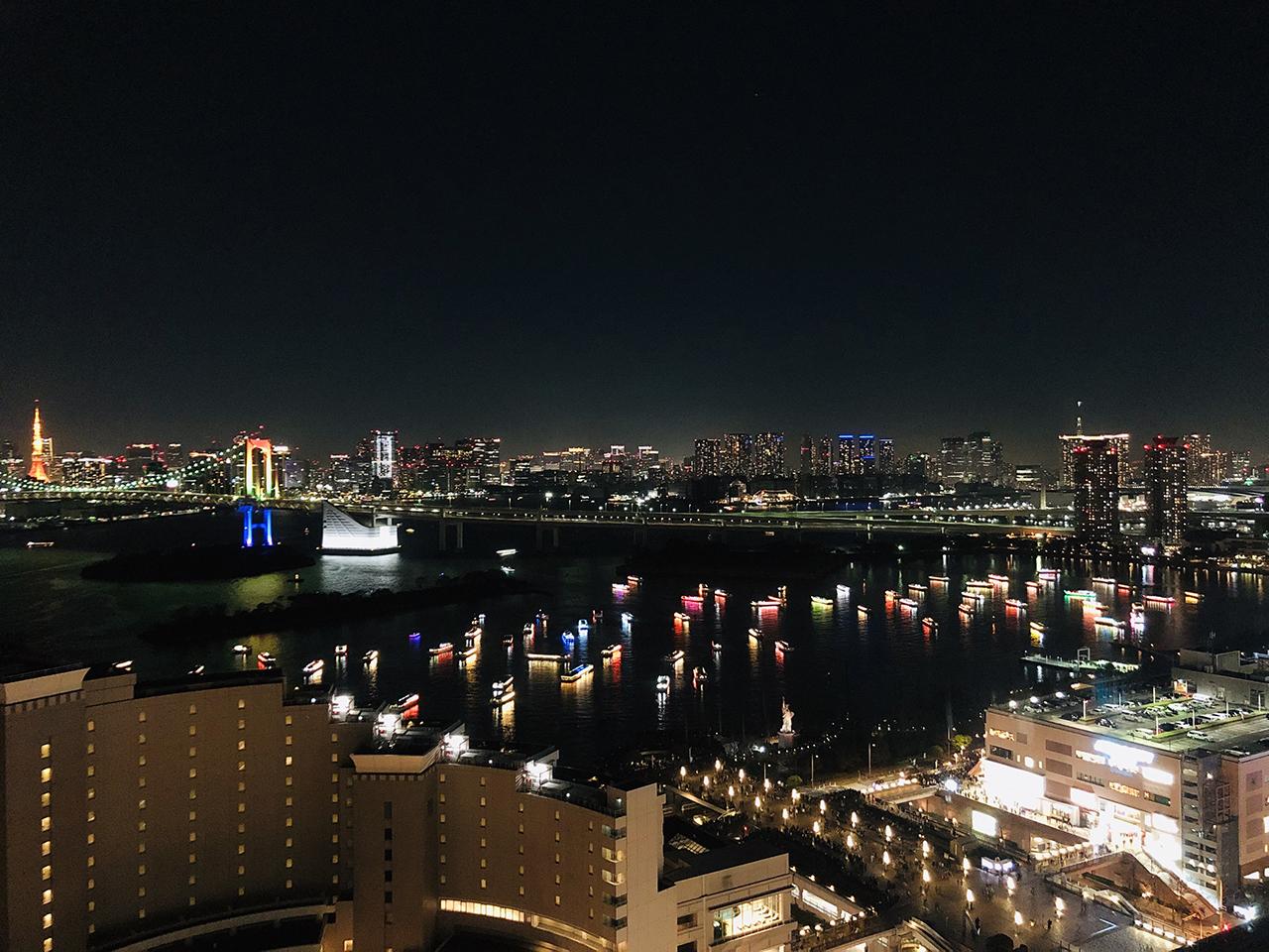 夜景の写真