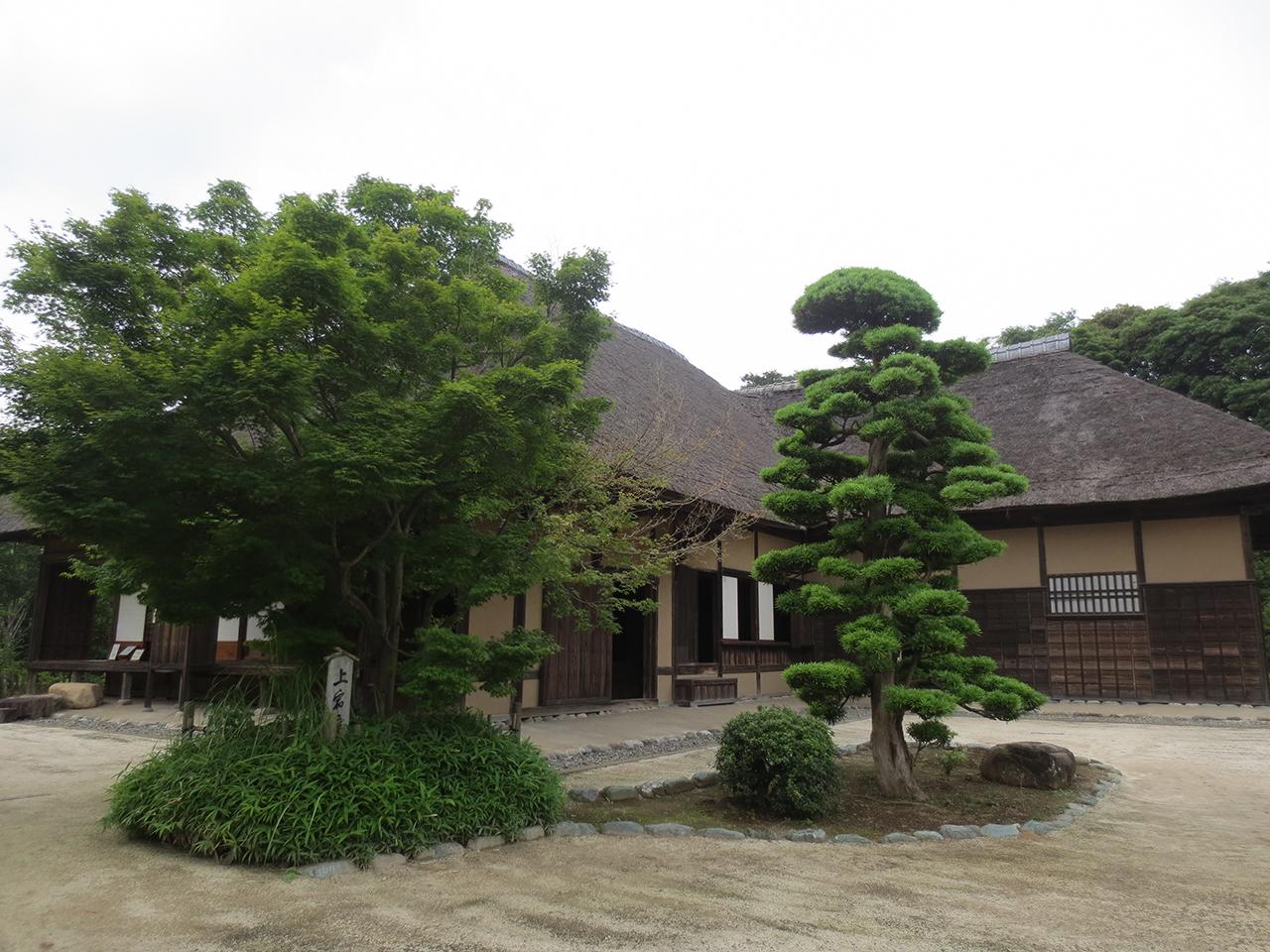 旧鴇田家住宅の外観