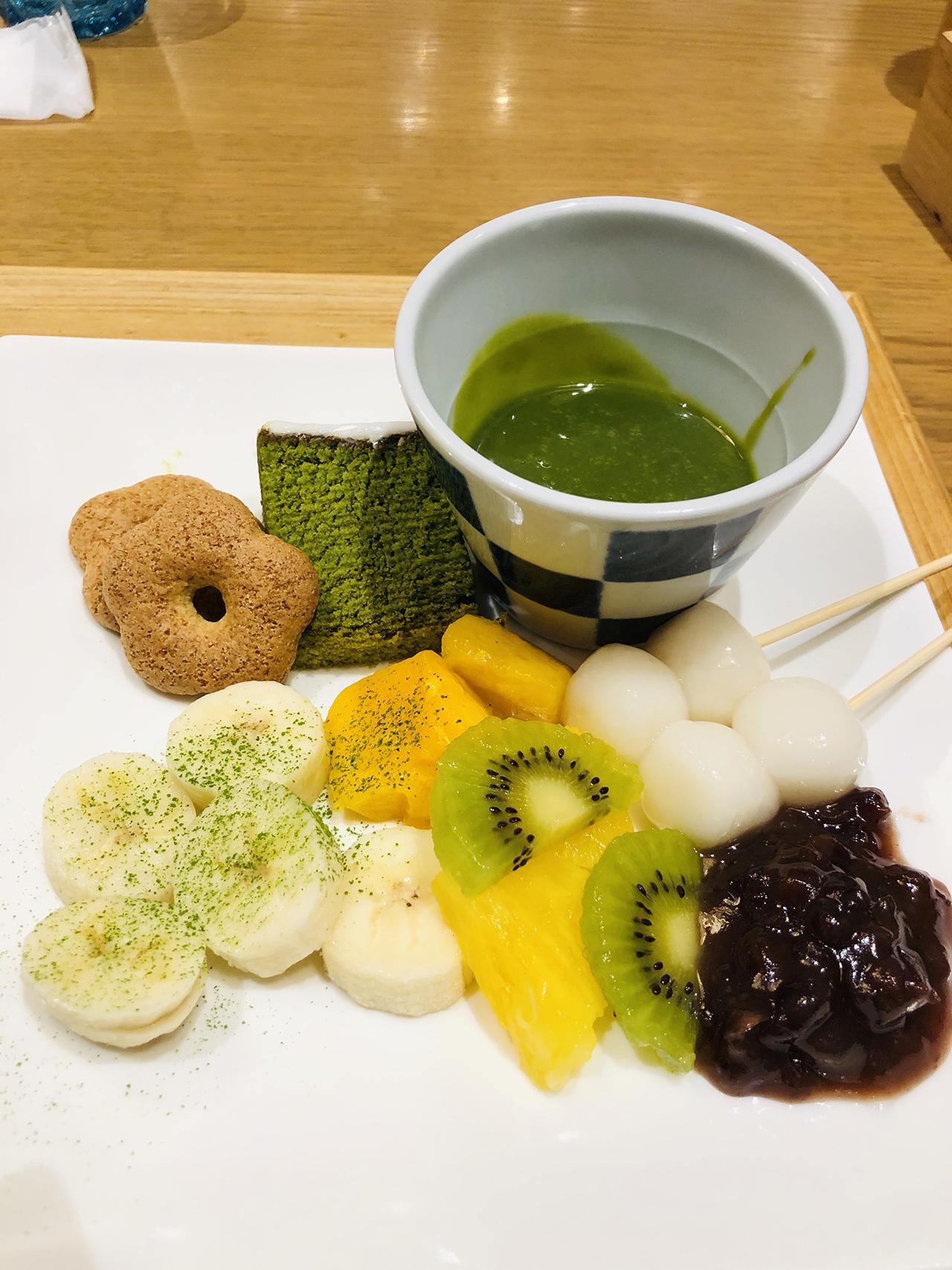 抹茶フォンデュの写真2