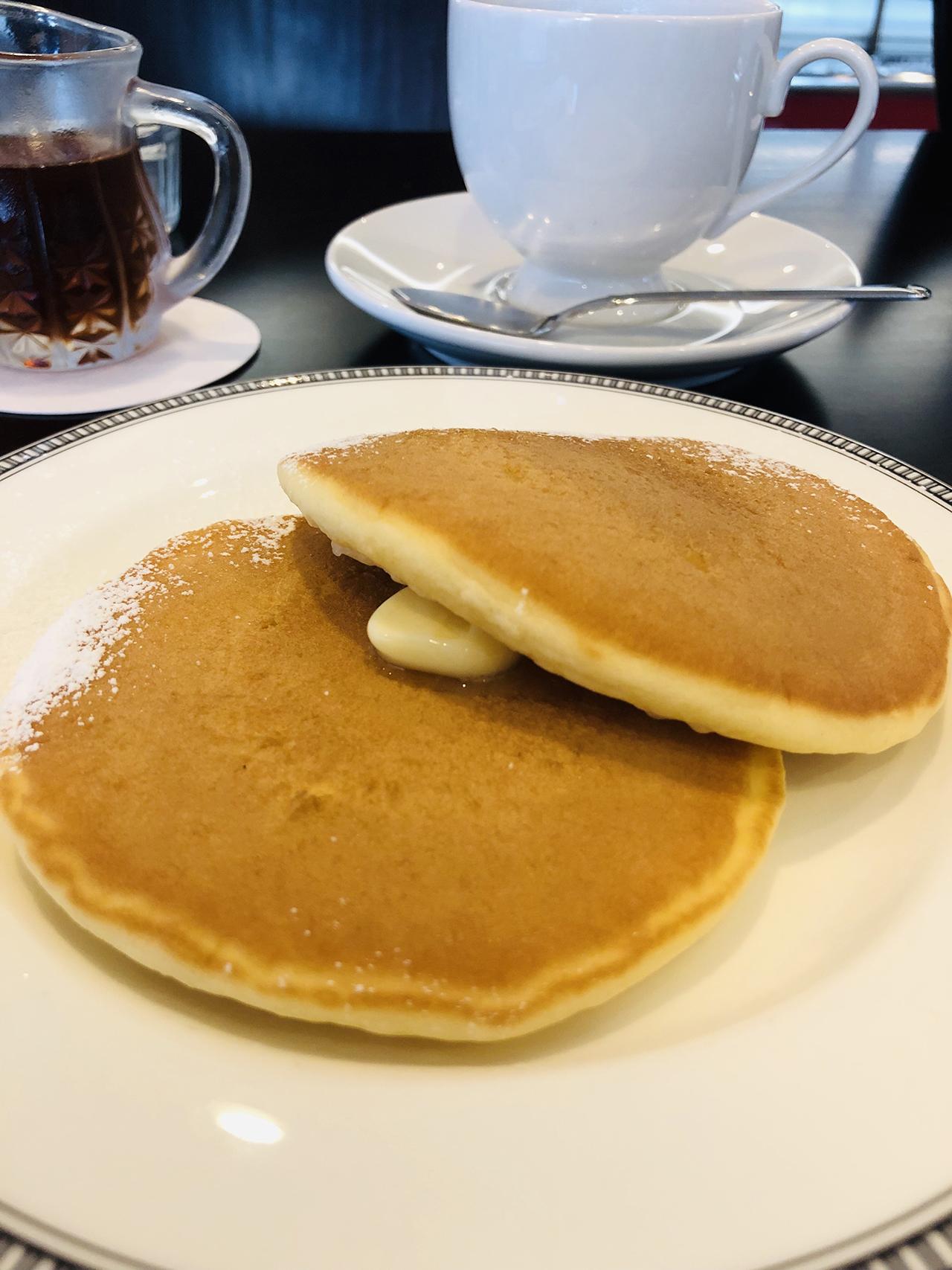 パンケーキのアップ写真
