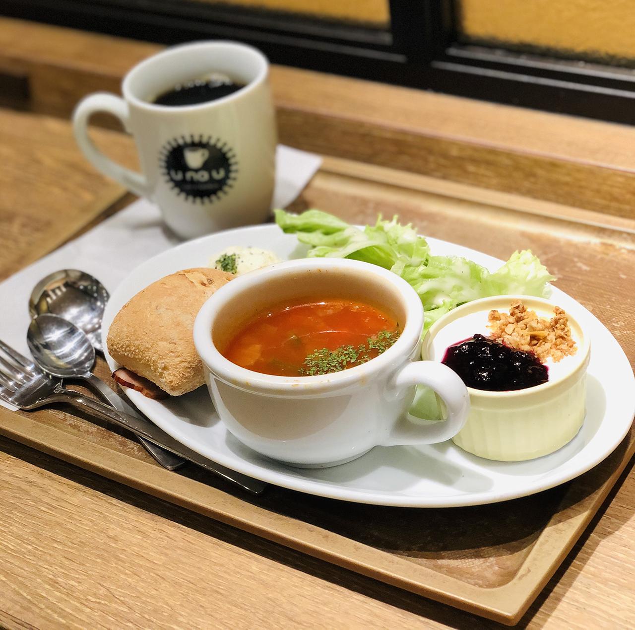 スーププレートの写真