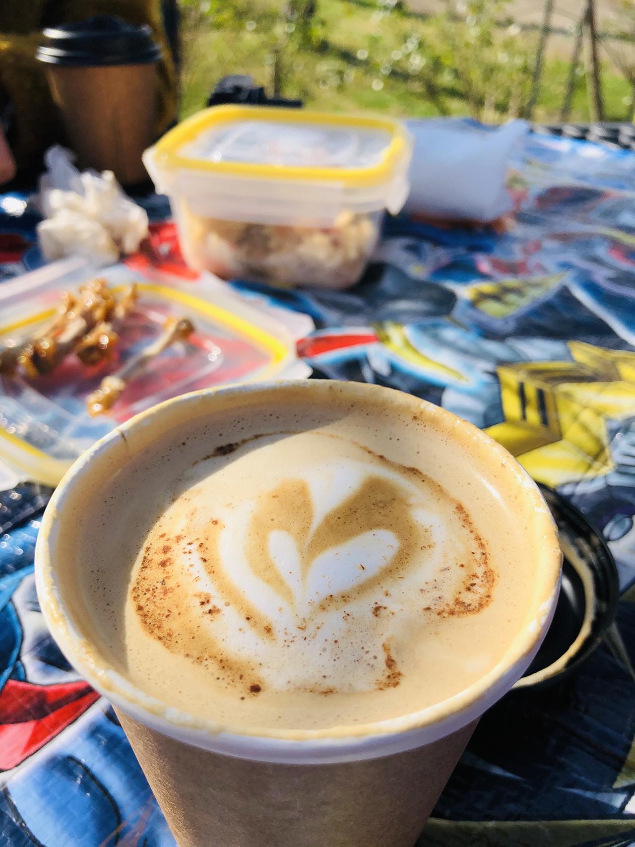 ジンジャーブレッドカフェラテの写真