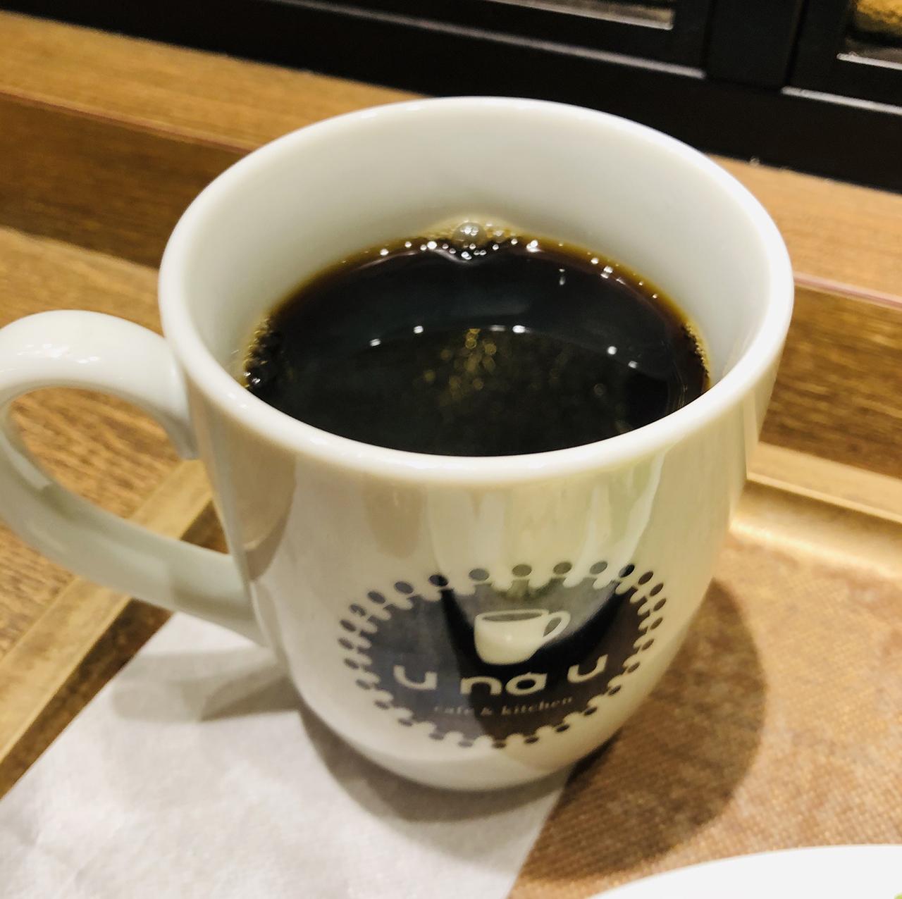 コーヒーのアップ写真