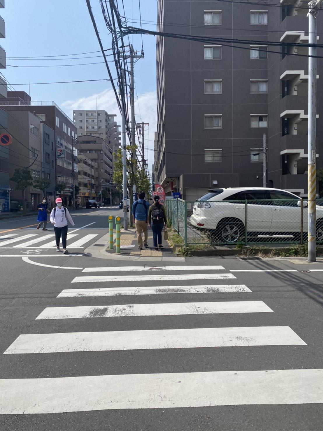 横断歩道の写真2