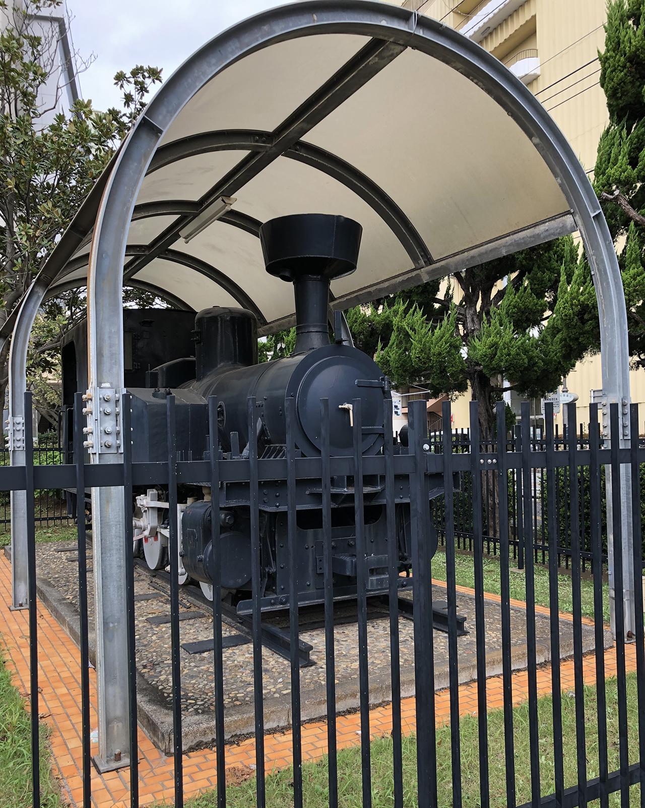 蒸気機関車の写真