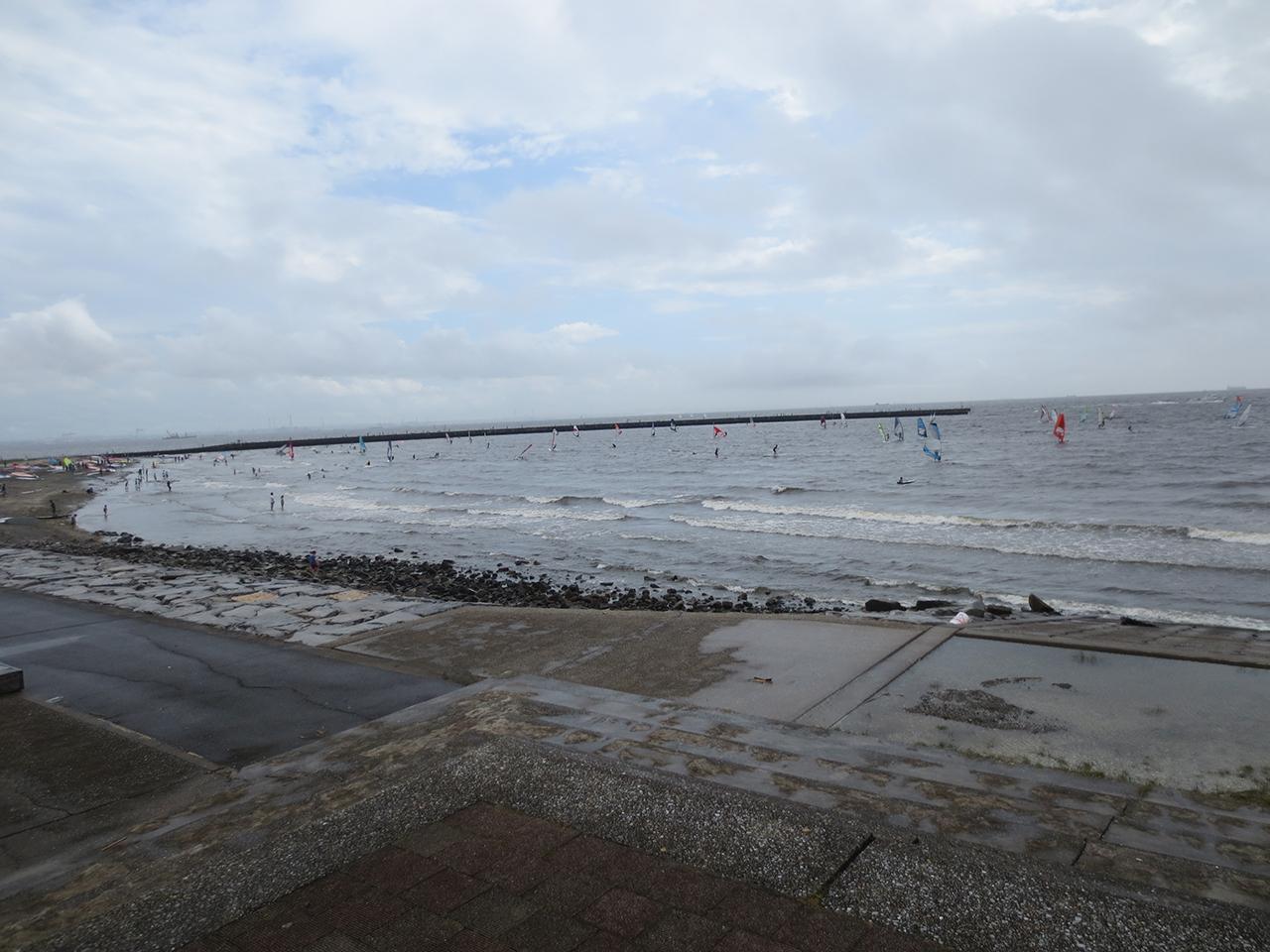 検見川の浜の写真