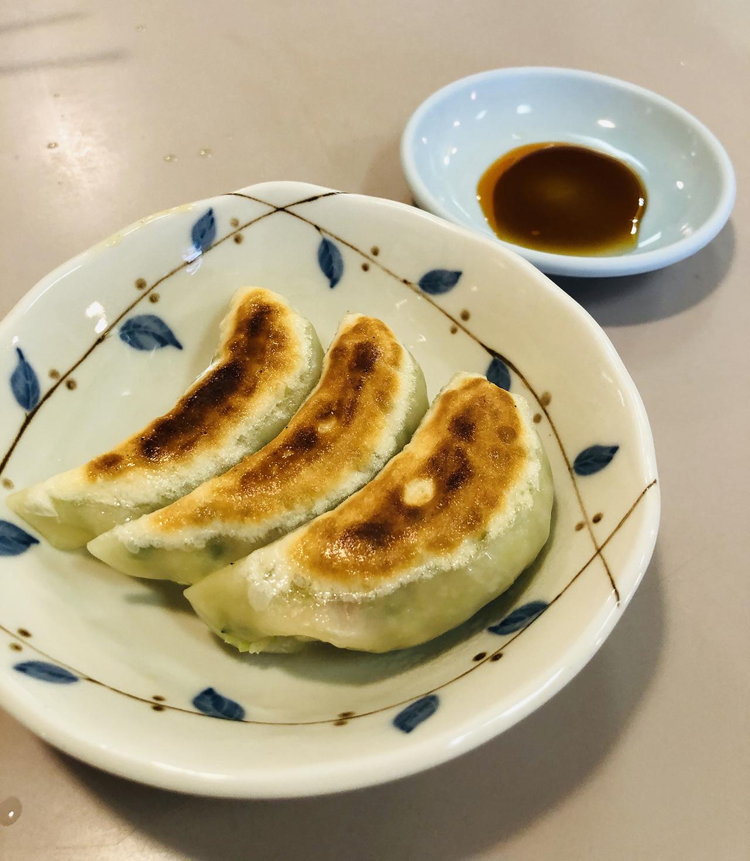 焼き餃子の写真
