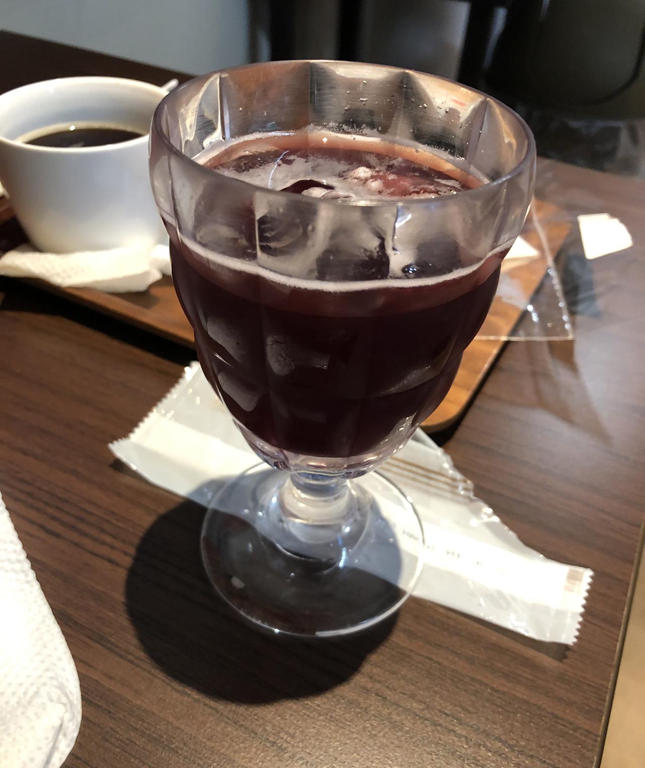 ぶどうジュースの写真