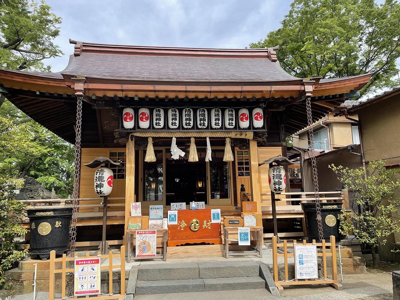 浦安三社 清瀧神社の画像