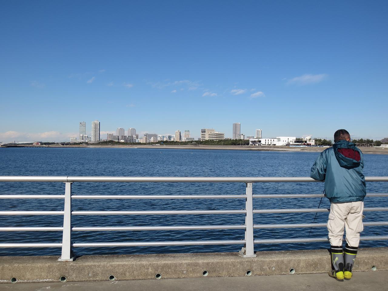 堤防の写真