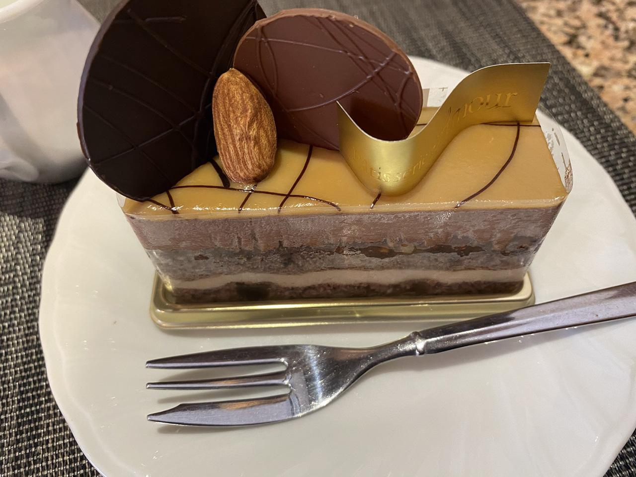 アムールオリジナルのケーキの写真