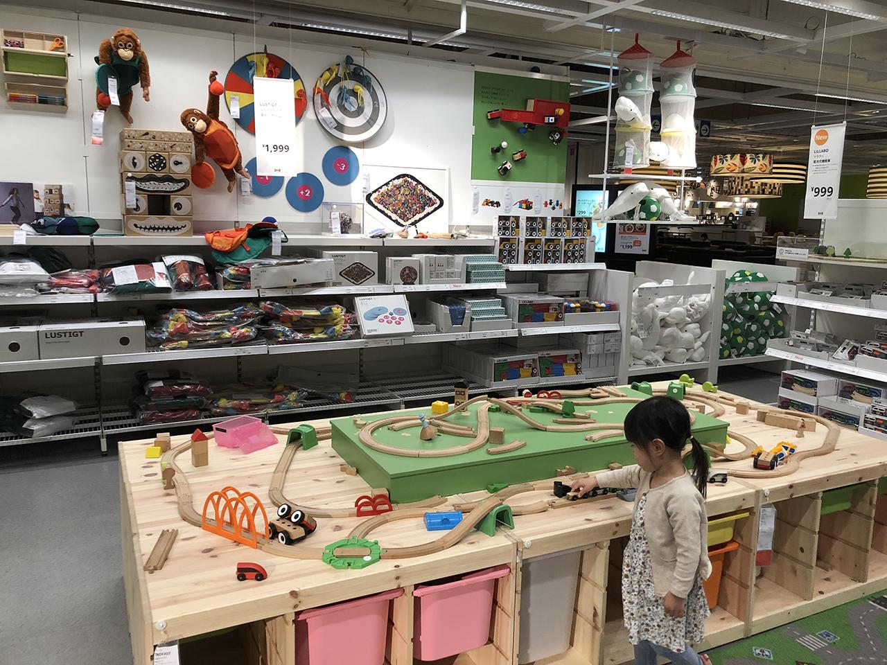 鉄道・おもちゃスペースの写真