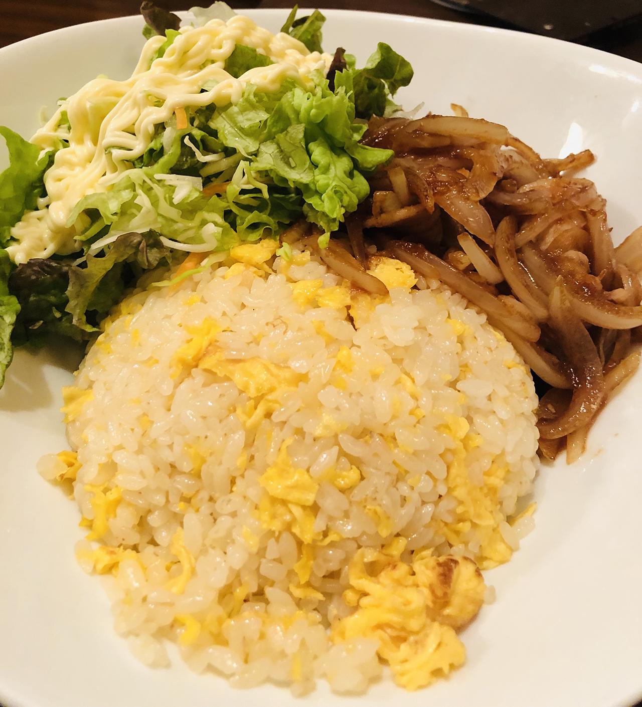 焼肉炒飯の写真