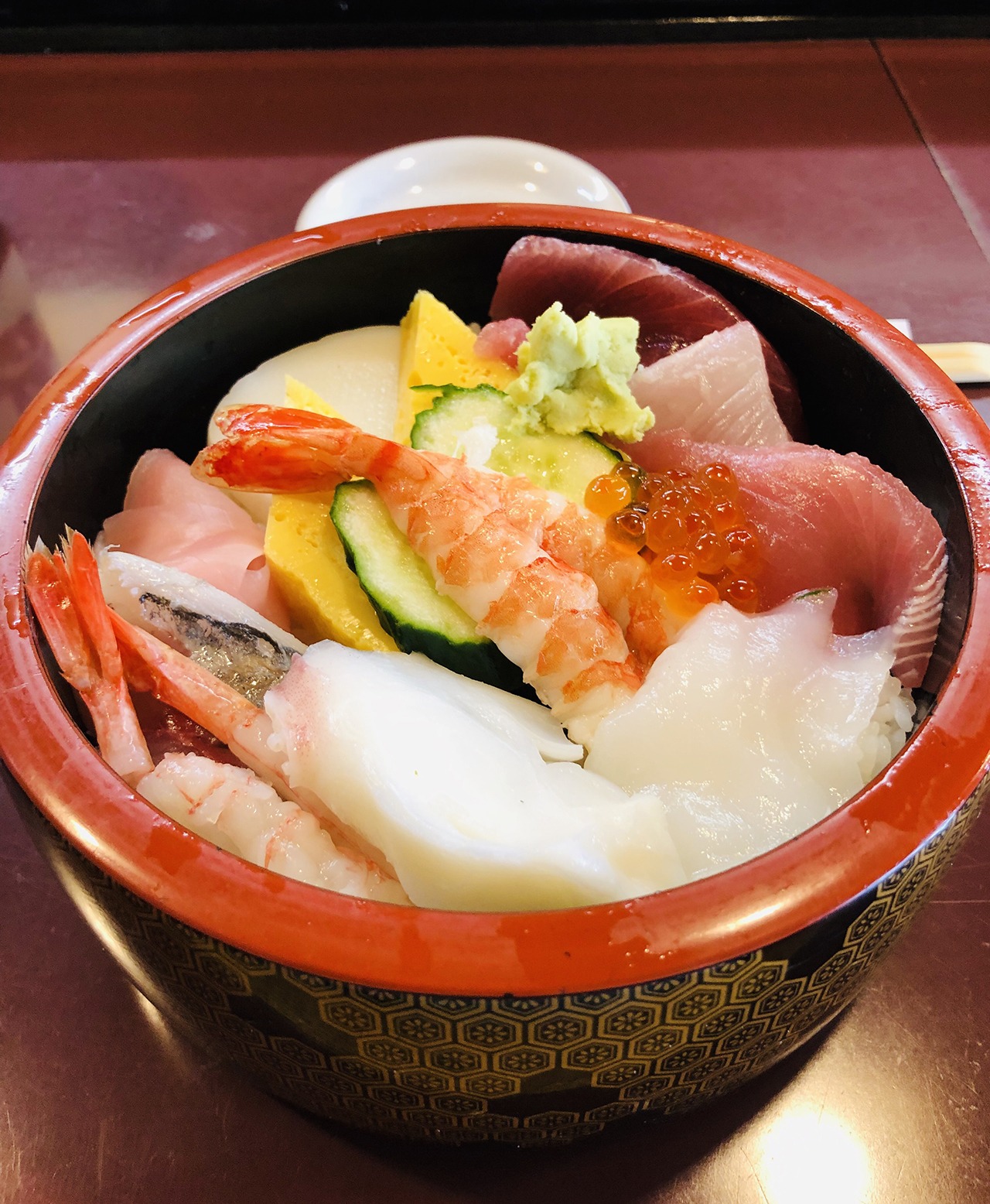 ちらし寿司のアップ写真