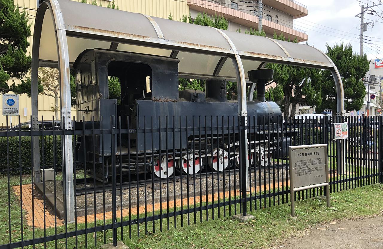 蒸気機関車の写真2