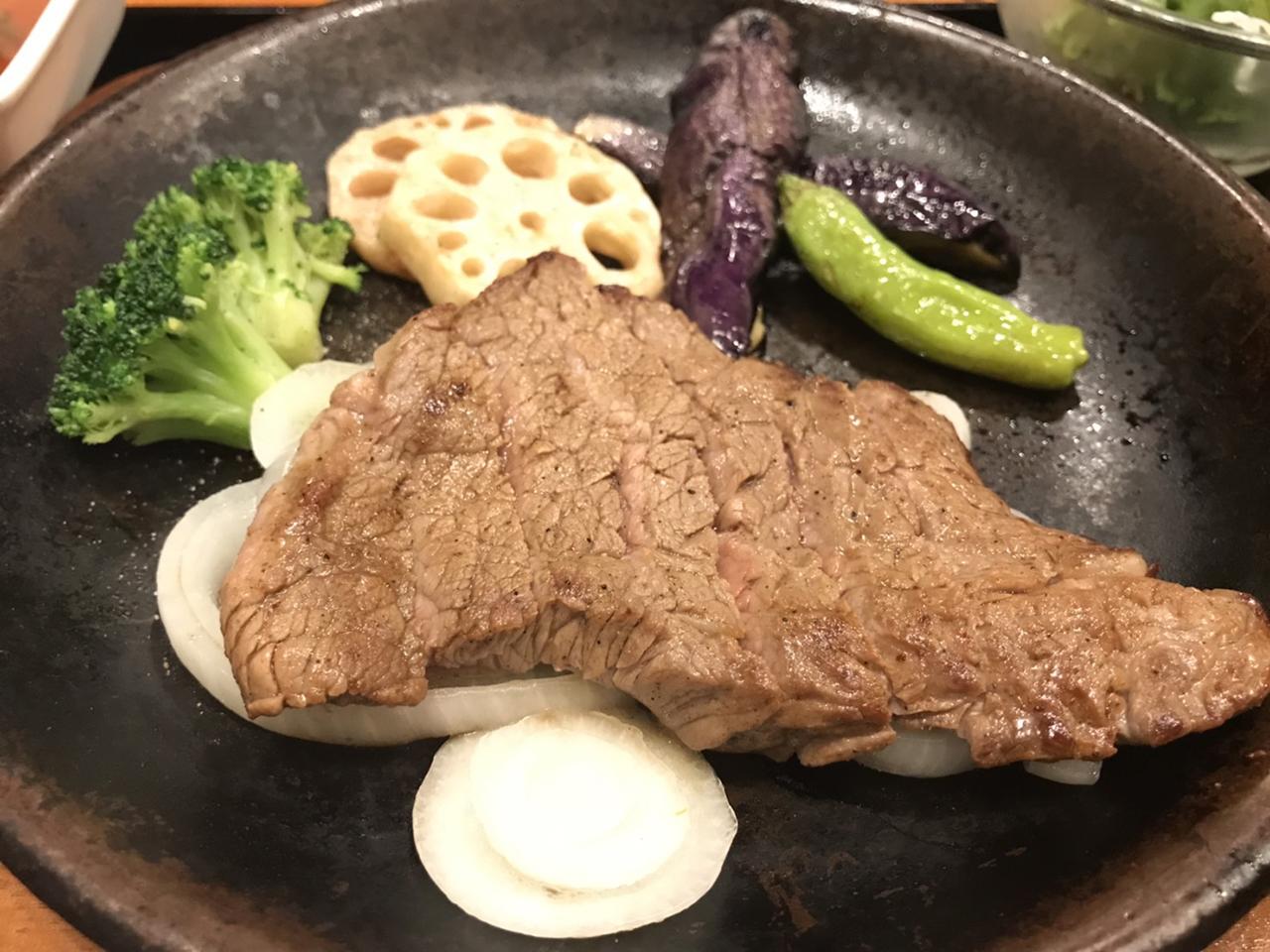 ステーキのアップ写真