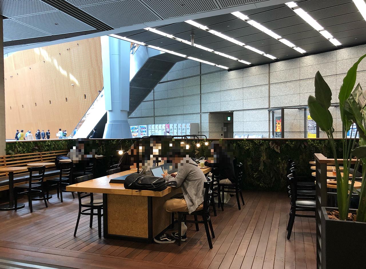 CAFE LEXCEL(カフェ レクセル) 東京国際フォーラム店の外観