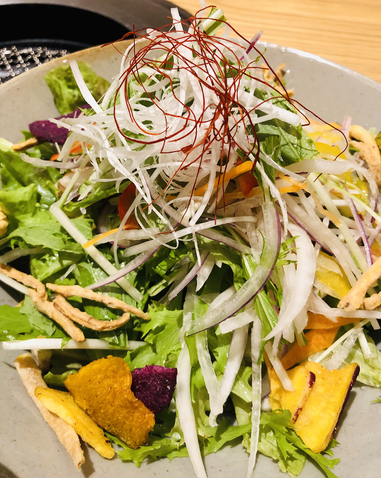 サラダの写真