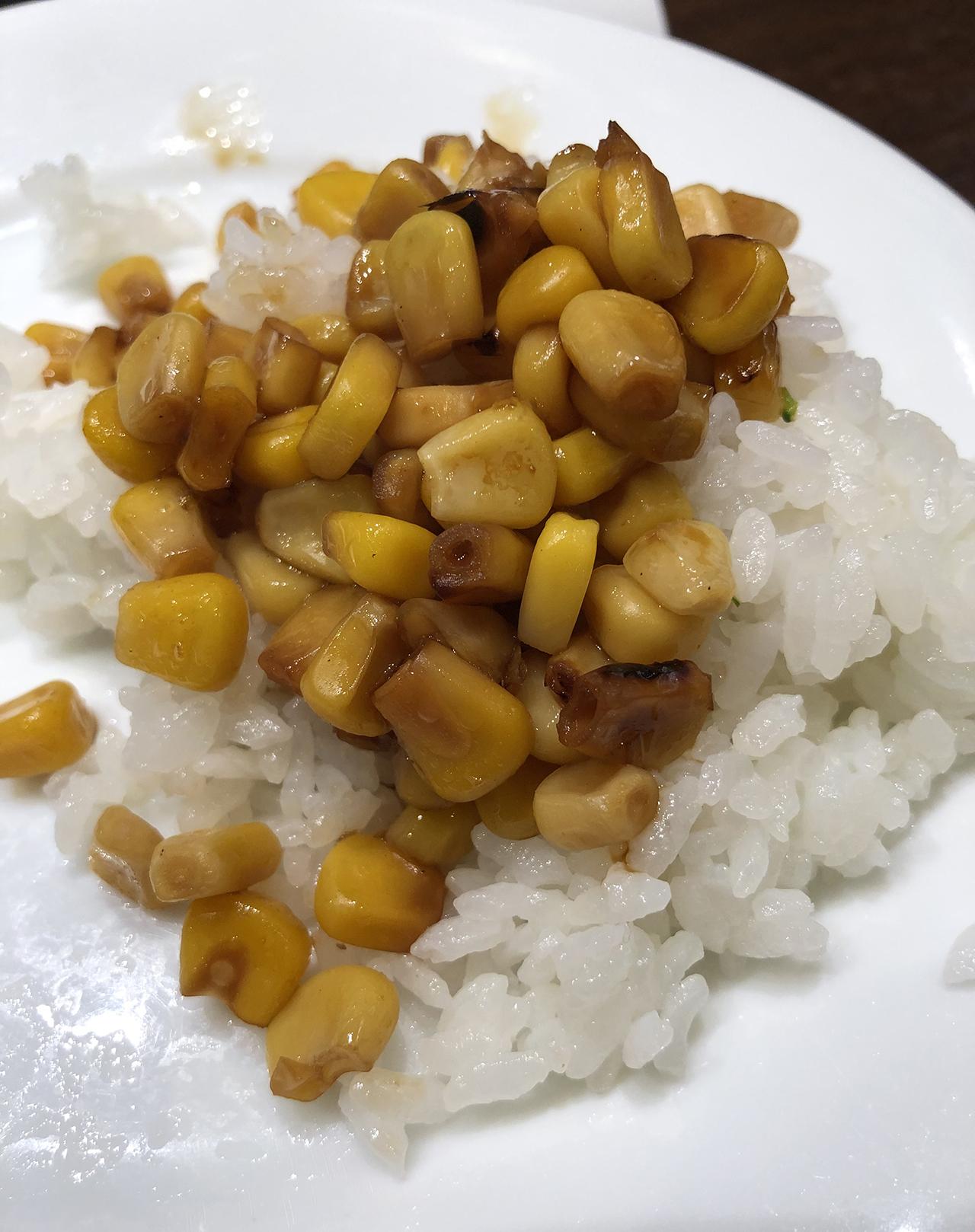 コーンご飯の写真