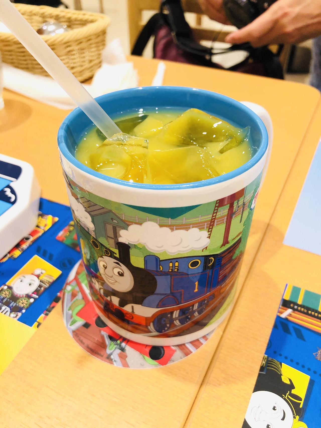 オレンジジュースの写真