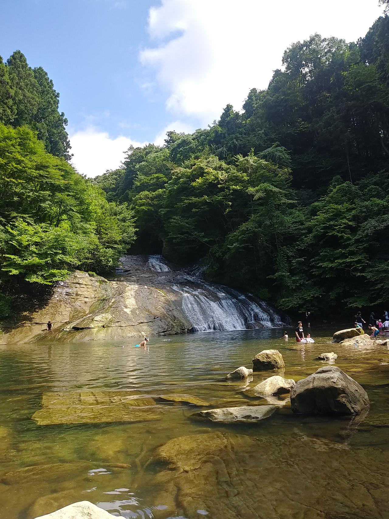 栗又の滝の写真