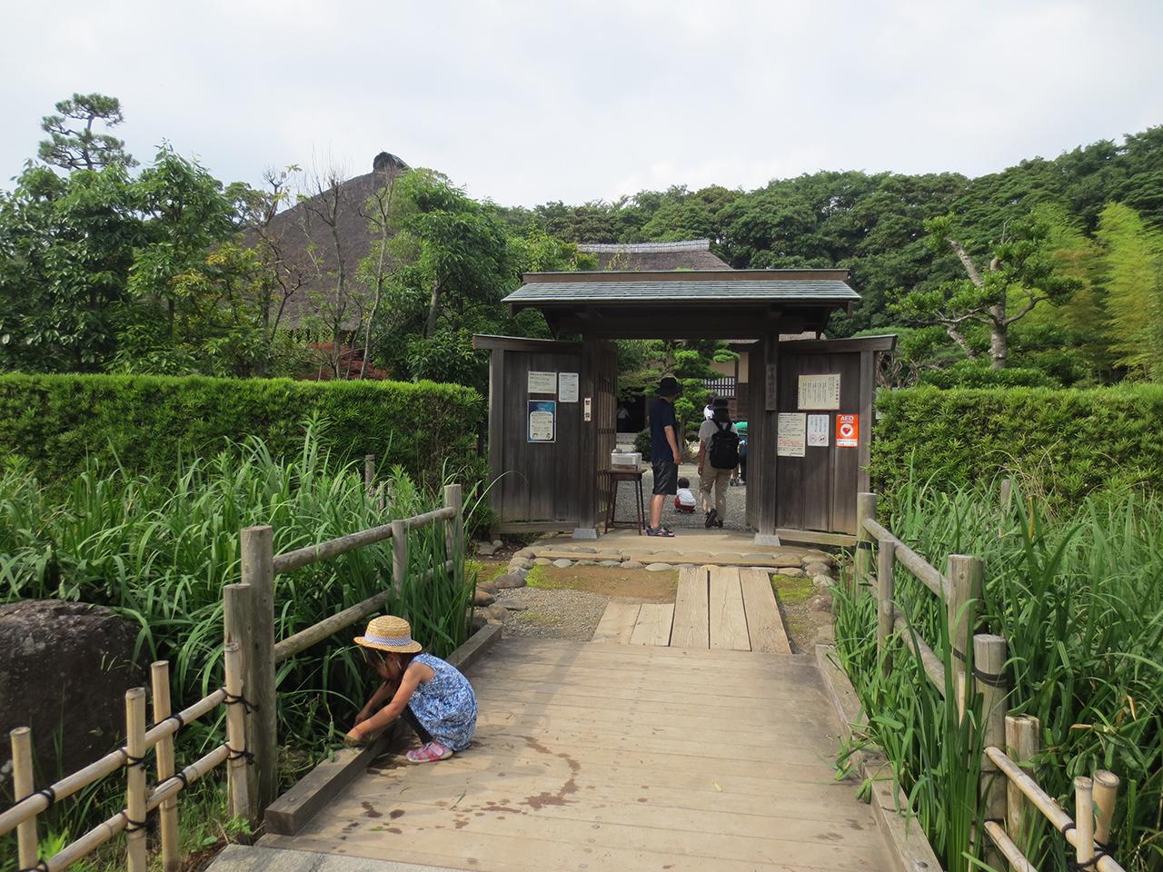 旧鴇田家住宅の入口の写真
