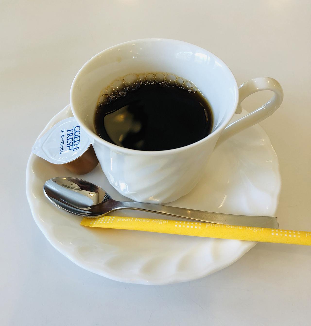 ホットコーヒーの写真